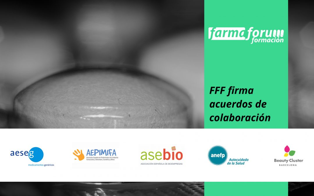 Farmaforum Formación firma sus primeros acuerdos de colaboración con Asociaciones Profesionales del sector
