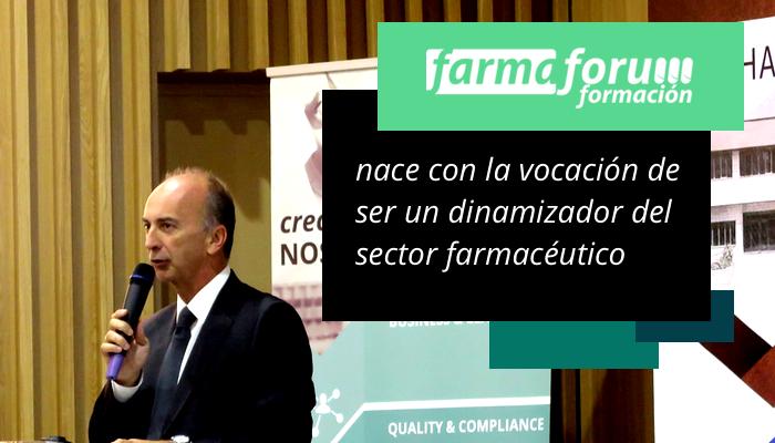 Farmafórum Escuela de Formación nace con la vocación de ser un dinamizador del sector farmacéutico