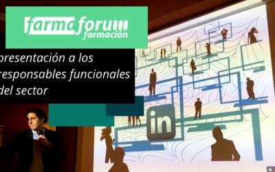 Presentación de Farmafórum Escuela de Formación a los responsables funcionales del sector farmacéutico e industrias afines