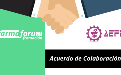 Acuerdo de colaboración entre AEFI y Farmafórum Formación