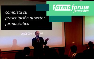 Farmafórum Escuela de Formación completa su presentación al sector farmacéutico