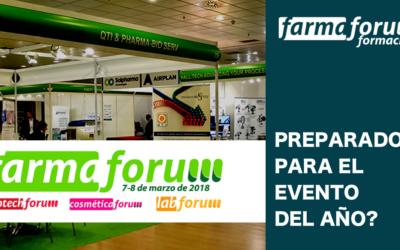 Se acerca la quinta edición de FARMAFORUM, el foro de la industria de los sectores farmacéutico y afines