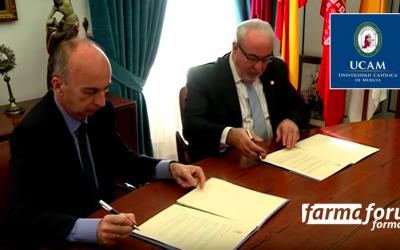 Farmafórum Formación y la UCAM firman convenio de colaboración para programas de posgrado