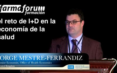 Jorge Mestre-Ferrandiz y el reto de I+D en la economía de la salud