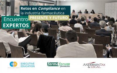 """""""Compliance como estrategia de sostenibilidad y viabilidad del sector farmacéutico y biosanitario"""""""