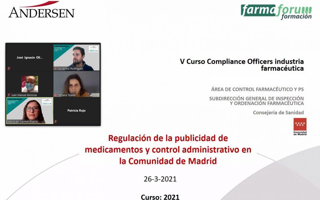 Farmaforum Formación y Andersen finalizan la V edición de su curso Compliance Officers en la industria farmacéutica y afines